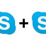 Skypeを2つ同時にログインさせる方法