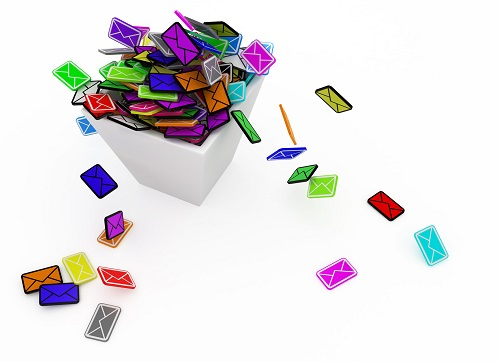 Color Email Bin